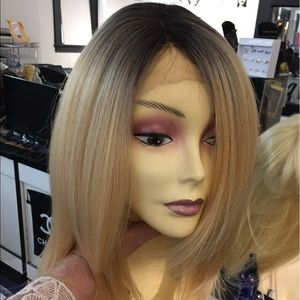 Accessories - Layers Lacefront wig Swisslace ombré dark roots